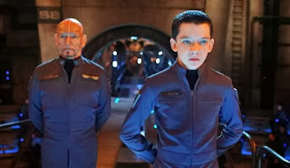Ben Kingsley and Asa Butterfield in 'Ender's Game'