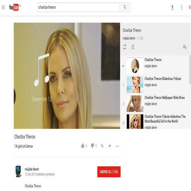 youtube com - charlize theron