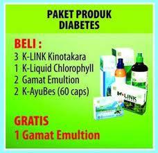 Paket Produk K-link untuk Diabetes