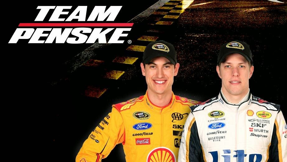 Team Penske = Joey Logano and Brad Keselowski