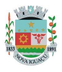 Página da Prefeitura Municipal de Nova Iguaçu