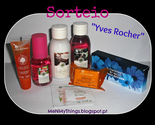 Me n' My Things : Sorteio Yves Rocher
