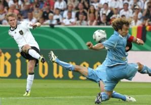 gol de schurrler alemania vence a uruguay
