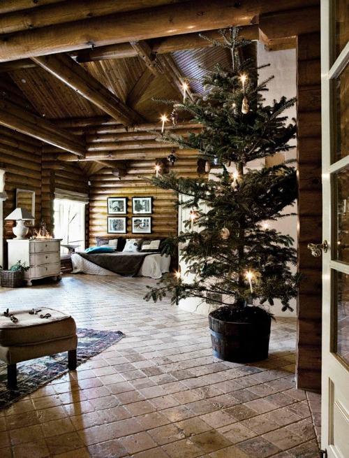 decoracion de interiores cabañas rusticas : decoracion de interiores cabañas rusticas:Una Pizca de Hogar: Cabaña rústica y nórdica