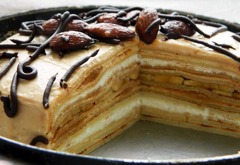 сгущенкой Крем фото с торта из со для творога рецепт