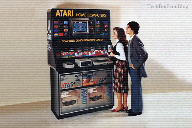 Atari Home Computer Demostration Center