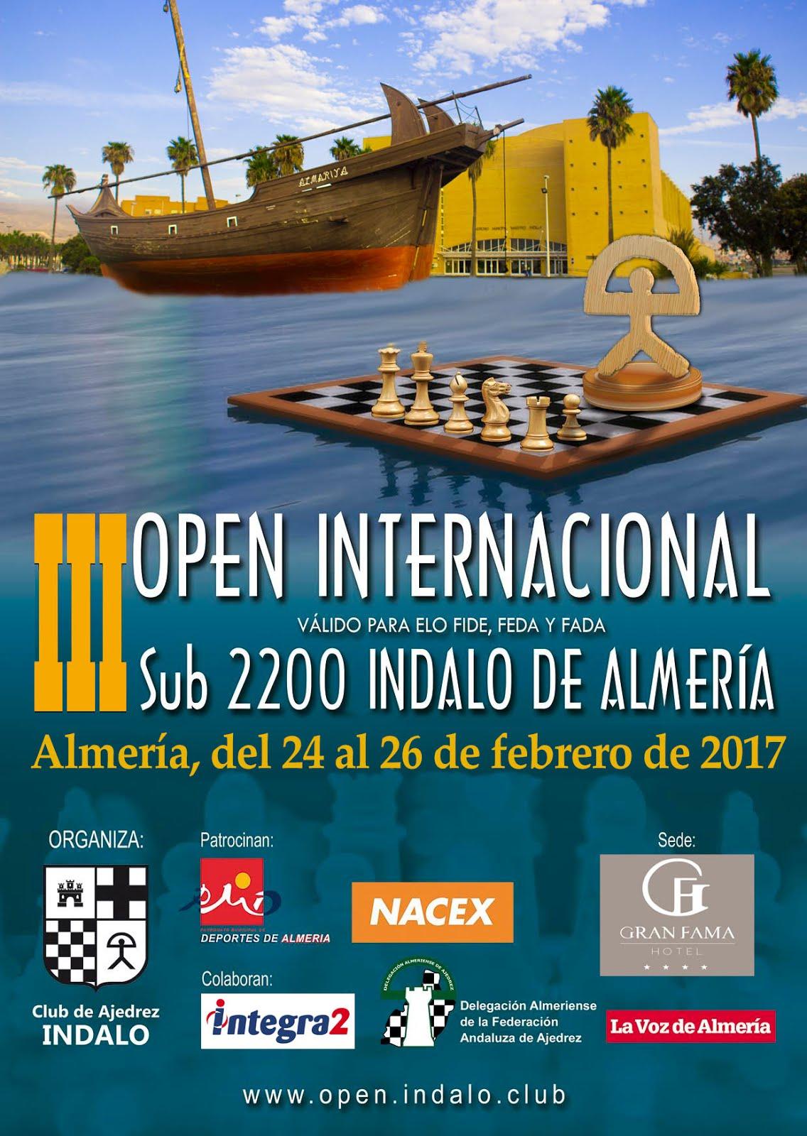 III Open Internacional INDALO Sub-2200