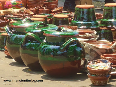 Mexican Pottery from Patzcuaro Lake Region