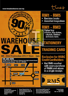 Times Warehouse Sale Subang Jaya 2013