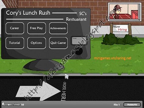 Free Download Games - Corys Lunch Rush