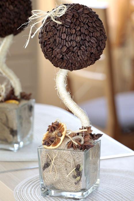 Кофейное дерево сделанное своими руками