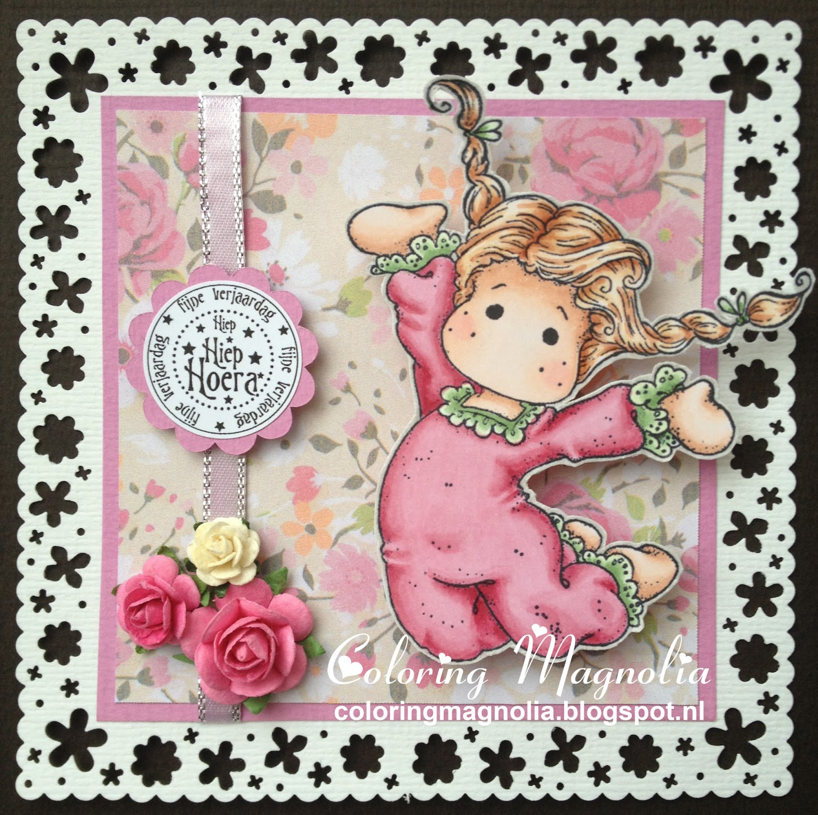 Gift Card Priskilla - Magnolia 2013 Little Easter Collection - Happy Easter Tilda