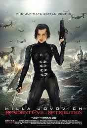 فيلم Resident Evil: Retribution رعب