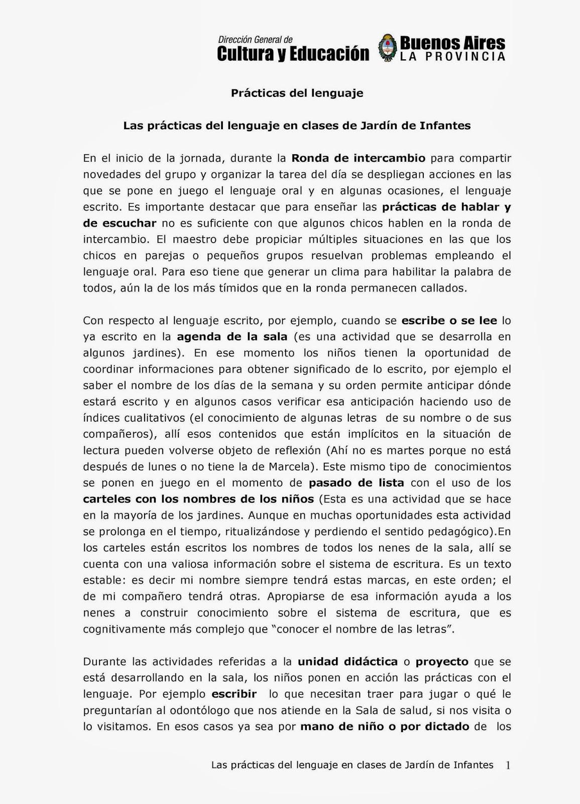 Edaic varela equipo distrital de alfabetizaci n inicial y for Canciones de jardin de infantes argentina