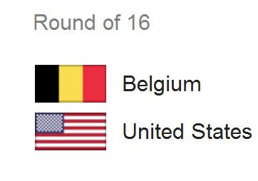 Jadwal Pertandingan Belgia vs Amerika Serikat - 16 Besar Piala Dunia 2014