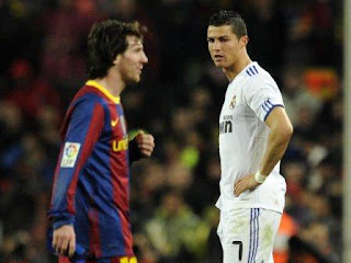 gambar wallpaper ronaldo messi