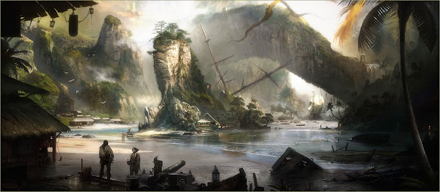 St. Lucia in the videogame Raven's Cry