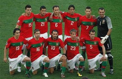 Portugal Team Euro 2012