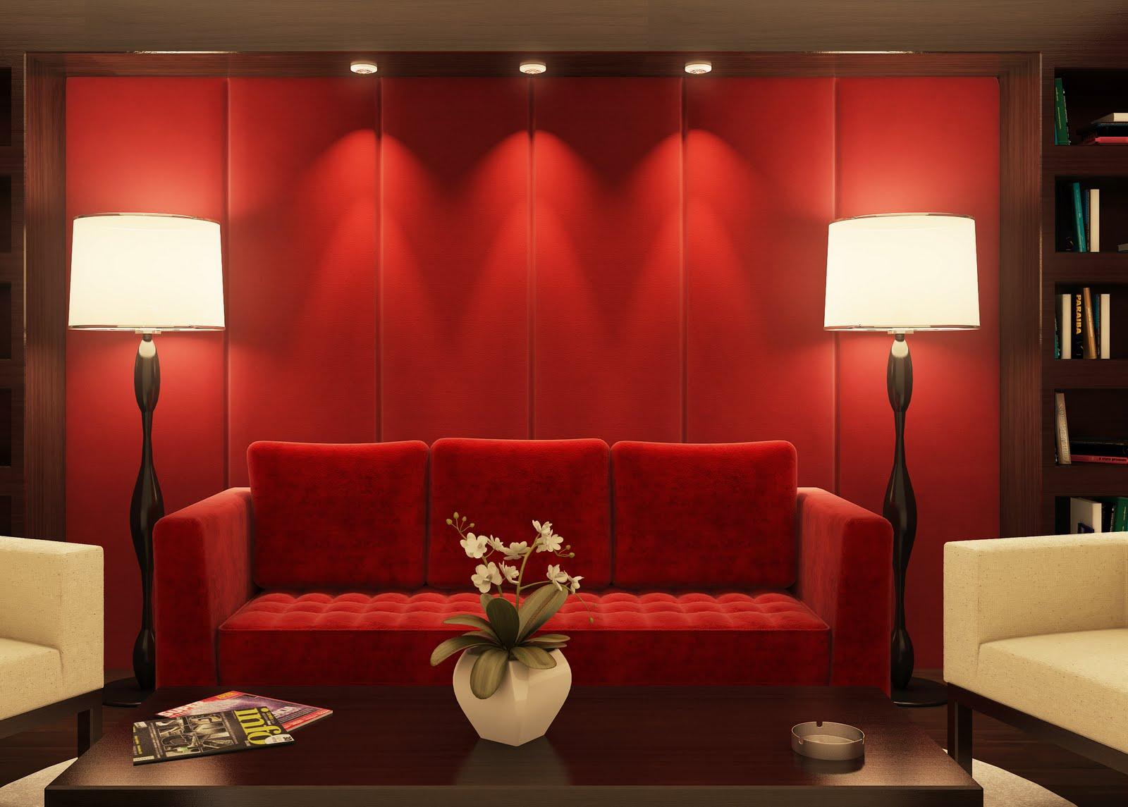 principal e o vermelho ganha # decoracao de sala vermelha e branca