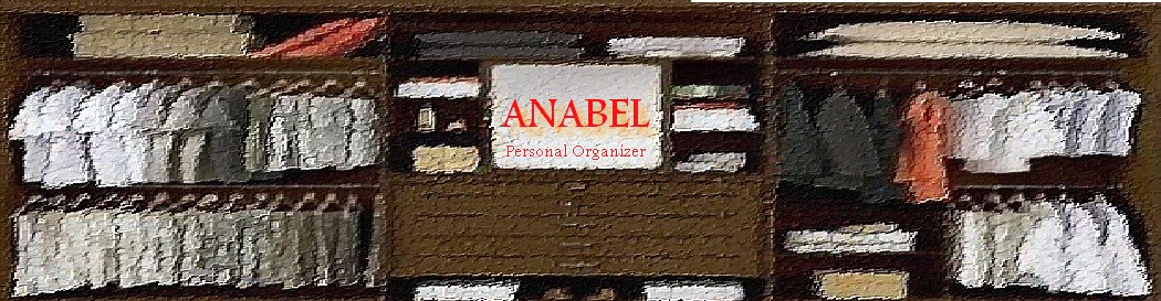 ANABEL-PERSONAL ORGANIZER