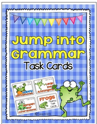 Task cards: Grammar