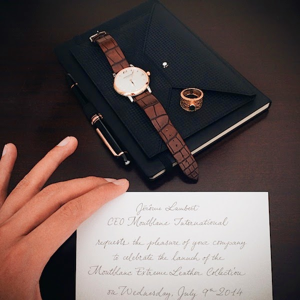 Jim Shi New York and Joseph Wong (whats-he-wearing.com) - Montblanc Extreme Leather Goods Collection Launch Florence 9th July 2014 Italy Firenze