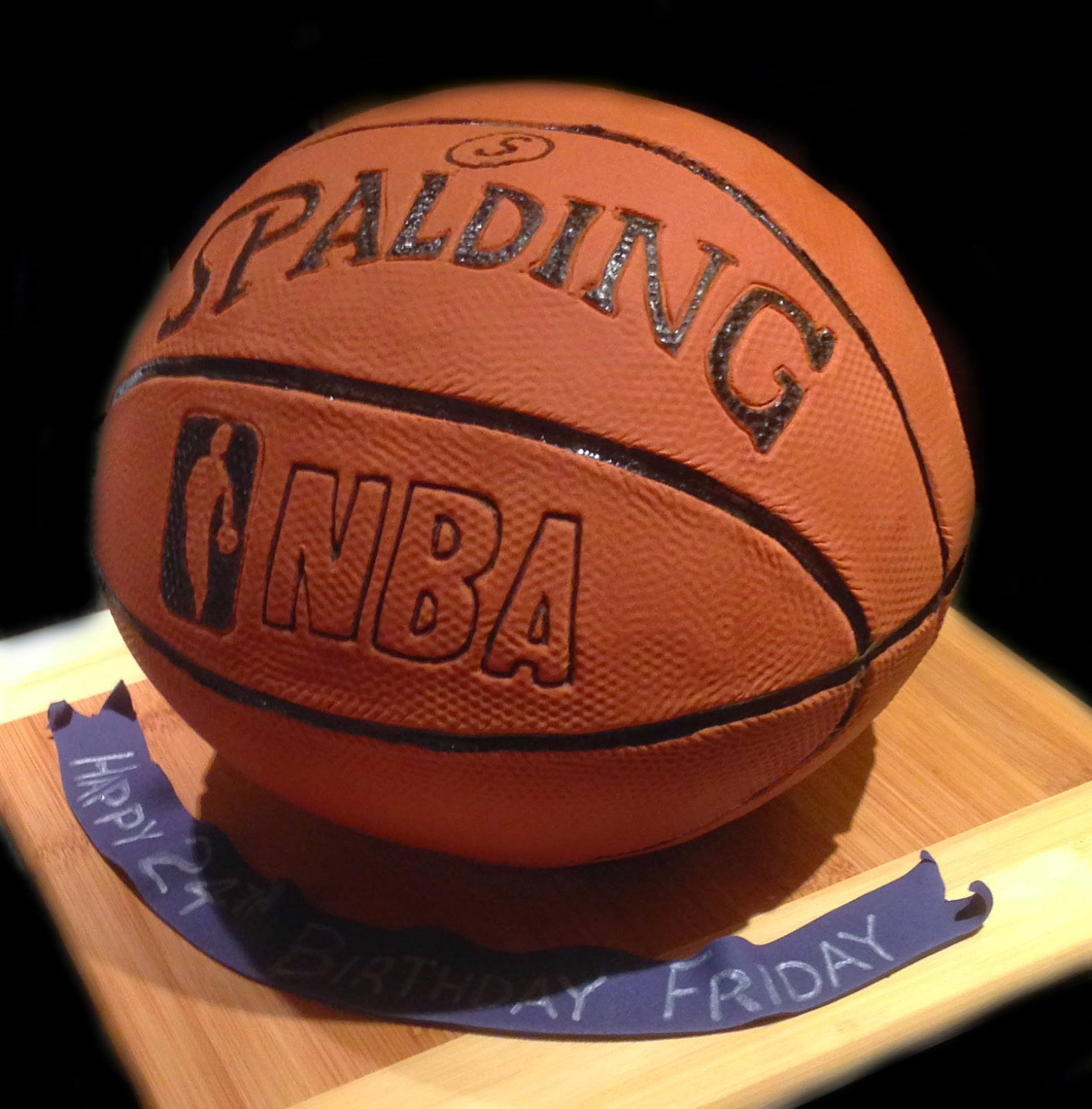 Nadas Cakes 3d Basketball Birthday Cake By Nadas Cakes Canberra