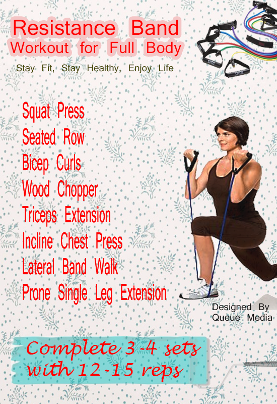 Resistance Band Workout for Full Body