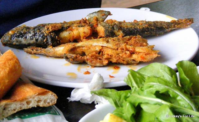 Izgara Alabalık - Grilled Trout, Erciş