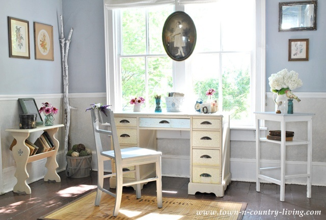 How I Found my Style Sundays- Town and Country Living office- From My Front Porch To Yours