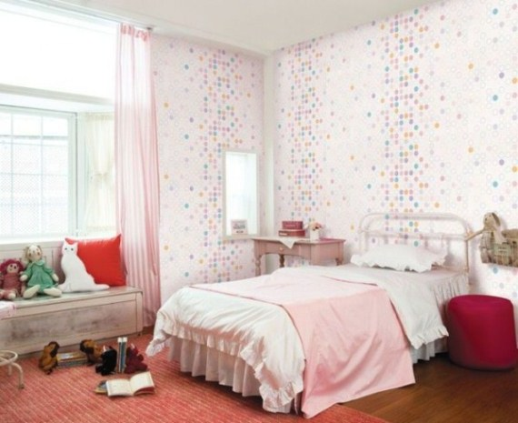 kids room wall color design