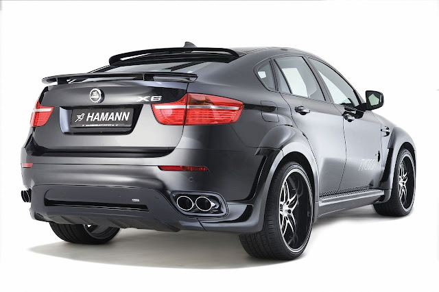 Bmw X6 Hamann rear