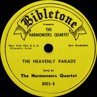 Harmoneers Quartet - There is A Change - The Sweetest Song I Know