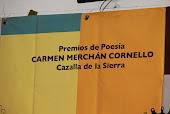 Premio de Poesía CARMEN MERCHÁN CORNELLO 2019
