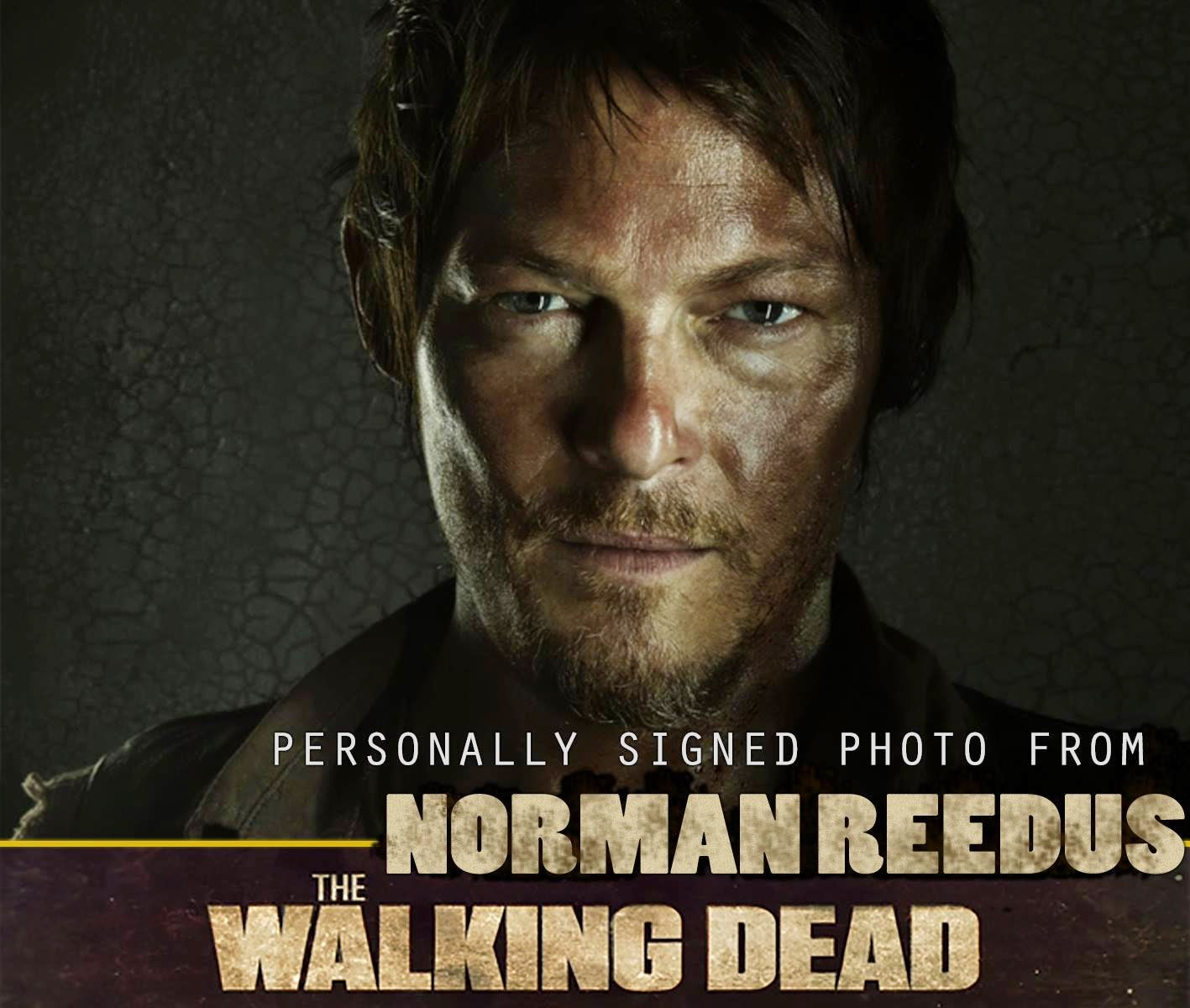 Support an Independent Film, Get A Signed Norman Reedus Photograph
