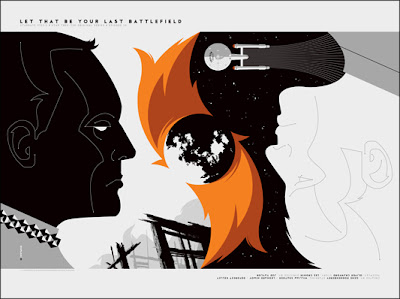 "Star Trek ""Let That Be Your Last Battlefield"" Screen Print by Tom Whalen"