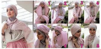 Cara Mudah Memakai Hijab Modern Dan Modis Terbaru