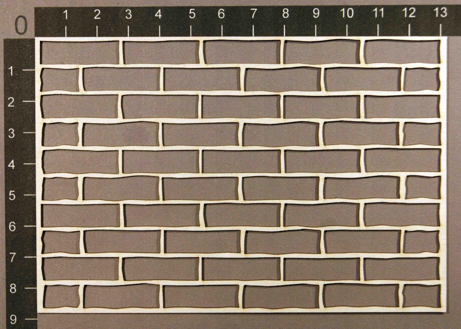 Имитация кирпичной стены из картона своими руками 83