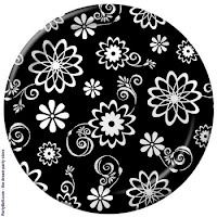 Black_floral_print_plate