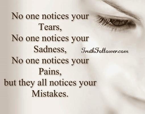 Tårerne triller.
