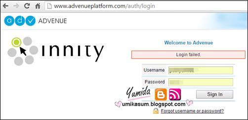 Sebab tak boleh login akaun Innity, cara reset password Innity, laman web Innity kena hack, script iklan Innity ada malware, akaun Innity disabled, jadi publisher Innity