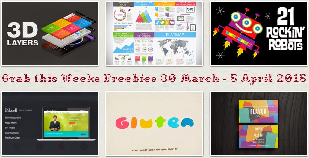 Grab this Weeks Freebies on Creative Market