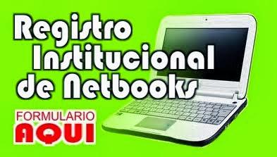 registro netbooks