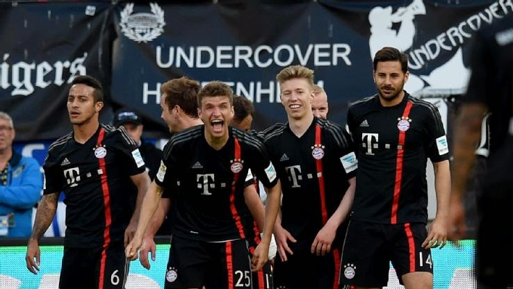 Kumpulan Goal Bundesliga Minggu ke 29