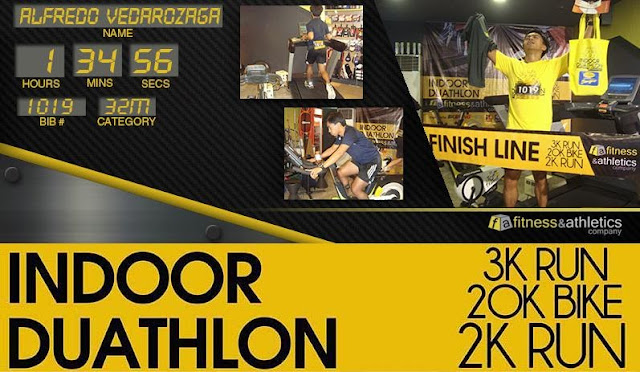 RunningAtom Indoor Duathlon Result
