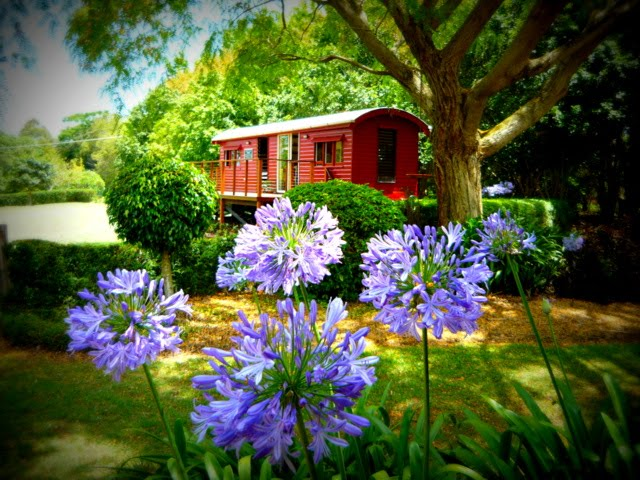 Our railway carriage