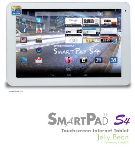 Nuovo tablet mediacom Android 4.2 da 10,1 pollici quad core