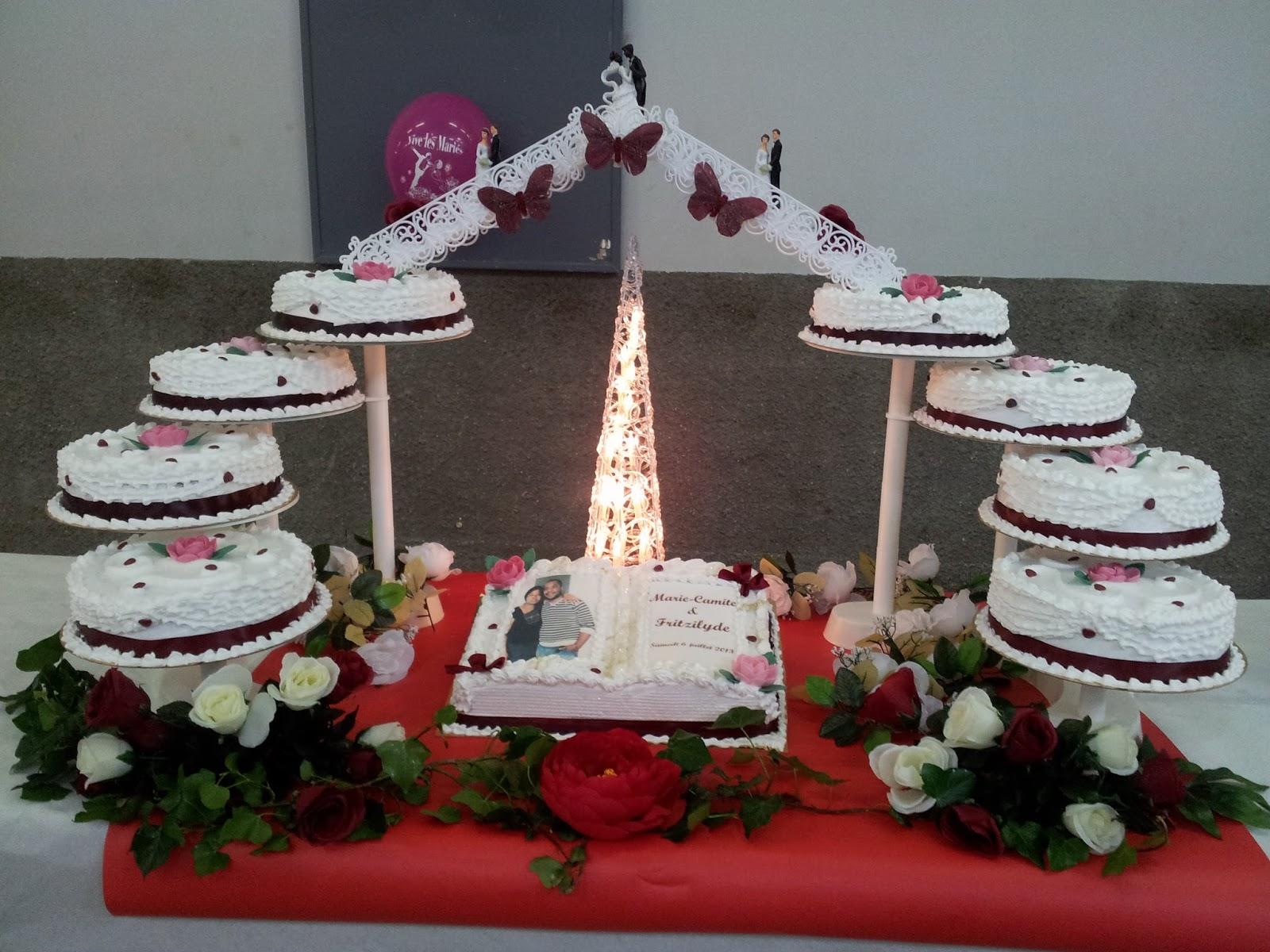 La Pâtisserie de Brunette: Gâteau de mariage