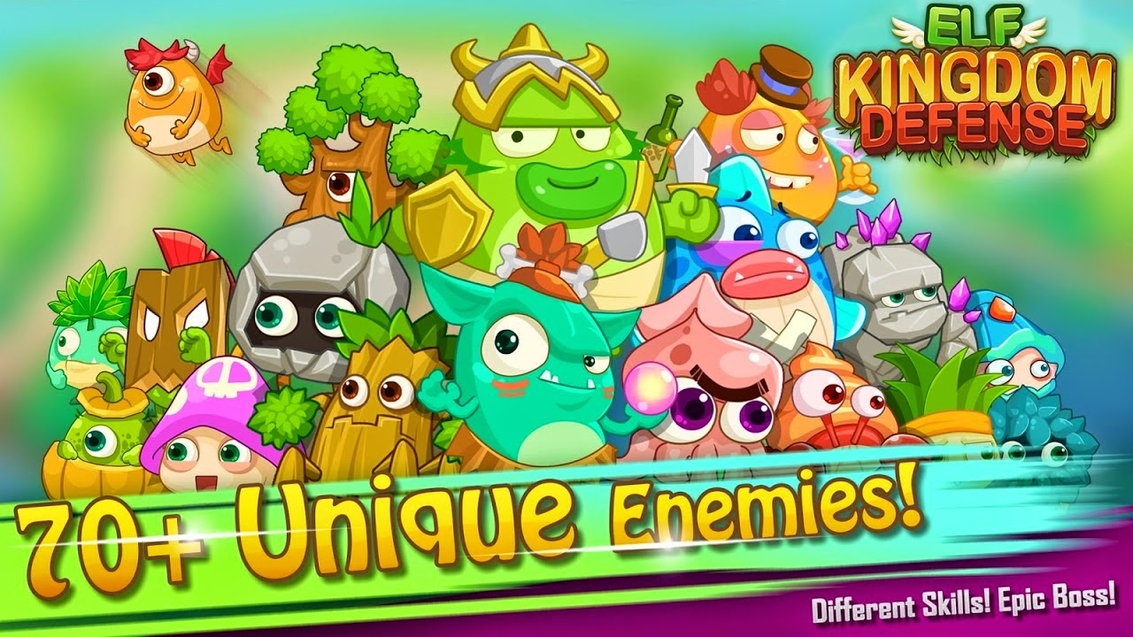 Elf Kingdom Defense Gameplay IOS / Android
