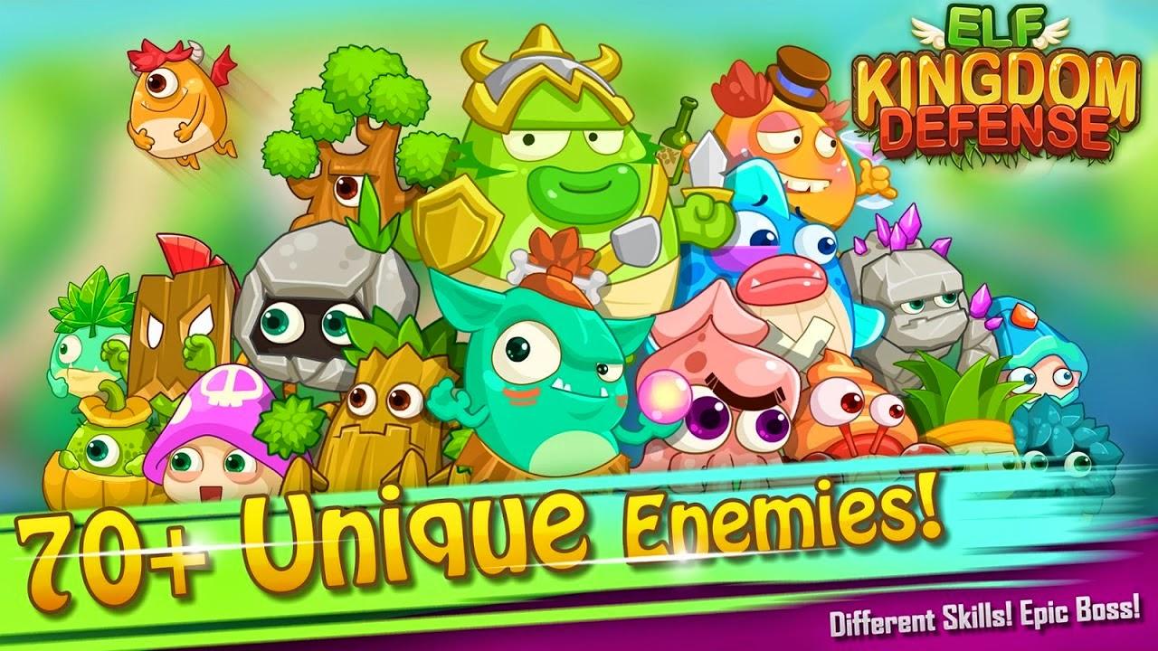 Elf Kingdom Defense Gameplay IOS / Android
